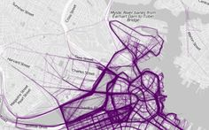 These graphics chart the most popular routes in 22 cities.