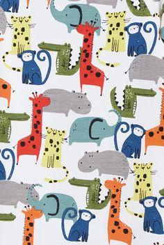 print & pattern Jungle Animals, Baby Animals, Jungle Print, Kids Prints, Surface Pattern Design, Kids Playing, Character Inspiration, Gift Wrapping, Print Patterns