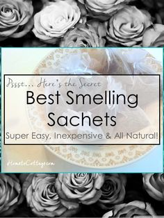 I'm old fashioned and love using sachets in my dresser drawers, but I'm super sensitive to perfumes and artificial scents. I'm going to tell you the secret how to easily make your own sachets and the tip to having them be the best smelling sachets, with absolutely no artificial perfume. Plus, I'm going to share...[KeepReading...]