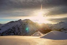 Lech-Zurs am Arlberg Tirol The Alps Austria photograph picture print by AE Photo