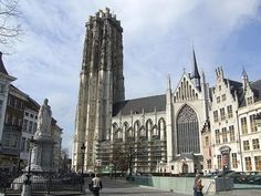 St. Rumbold's Cathedral in Mechelen, #Belgium #cathedral #beautifulplaces