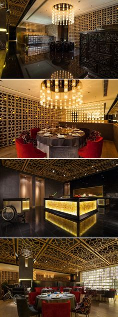 Cantonese Fine Dining Restaurant Y2C2 by Kokaistudios