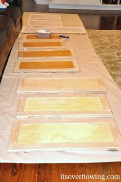 8 GREAT Tips for Painting Kitchen Cabinets...Details here: http://www.itsoverflowing.com/2012/03/diy-kitchen-painting-cabinets-tons-of.html