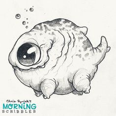 Lumpy Legfish  #morningscribbles