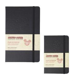 Moleskine Mickey Mouse notebooks