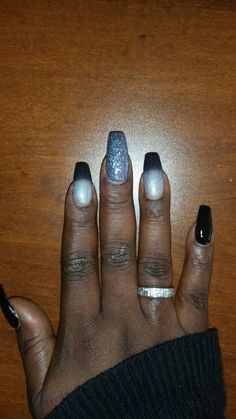 When your nail techs the 💣!!!