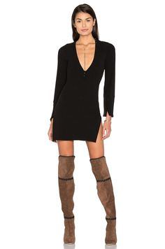 FLYNN SKYE x REVOLVE Dreya Dress in Black