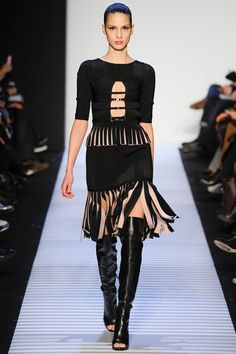 Hervé Léger by Max Azria Fall 2014 Ready-to-Wear Collection Slideshow on Style.com
