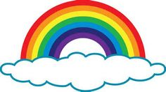 rainbow with clouds clip art emmaus pinterest clip art rh pinterest com clipart rainbow png clipart images of rainbow