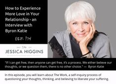 How to Experience More Love in Your Relationship - and interview with Byron Katie . New episode on Empowered Relationship Podcast Relationship Challenge, Relationship Struggles, Bad Relationship, Broken Relationships, I Need You Love, Byron Katie, Strong Quotes, Change Quotes, Attitude Quotes