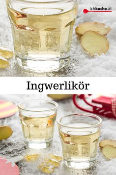 Ginger liqueur - Homemade with LOVE ❤️, because love 😍 is known for . - Ginger liqueur – Homemade with LOVE ❤️, because love 😍 is known to go through the stomach! Healthy Smoothies, Healthy Drinks, Smoothie Recipes, Cocktail Recipes, Cocktails, Kefir Benefits, Parmesan Roasted Cauliflower, Ginger Liqueur, Kefir Recipes