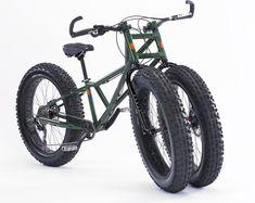 Rungu Juggernaut Three-Wheeled Bike Designed For Snow And Sand (video)