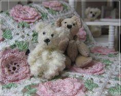 mini teddy love on stunning crochet