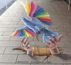 Peace Dove by AmazingStreetPaint.deviantart.com on @DeviantArt