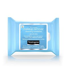 Neutrogena Makeup Remover Cleansing Towelettes, Daily Face Wipes to Remove Dirt, Oil, Makeup & Waterproof. via See Buy Options of soft, pre-moistened Neutrogena Makeup Remover Best Makeup Remover Wipes, Makeup Remover Towel, Makeup Wipes, Makeup Removers, Makeup Bags, Neutrogena Makeup Remover, Neutrogena Oil, Best Drugstore Makeup, Skin Care