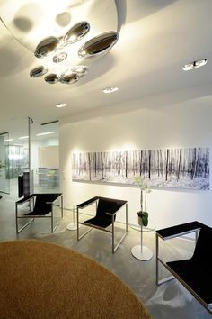 Modern Office Design of The Project Dental INN in Viernheim / Germany designed by architect Peter Stasek - Best Home Gallery, Interior, Home Decor Dental Office Design, Modern Office Design, Dental Offices, Workplace Design, Office Designs, Commercial Interior Design, Commercial Interiors, Office Inspiration, Office Ideas