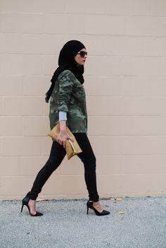 Camo. #hijab