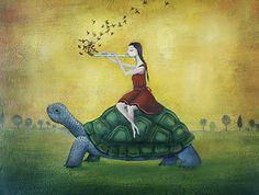 """Take it easy"" Amanda Cass art"
