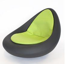 leuke relaxstoel want het is altijd gezelig als je leert of als je leest