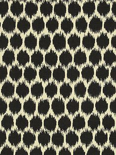 SEEING SPOTS NOIR Yard of Fabric. Possibility for regency chairs