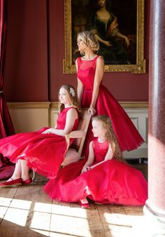 Award Winning Bridal Wear from Ireland – Bridal, Bridesmaid and Communion on Special Day… Tea Length Bridesmaid Dresses, Bridesmaids, Color Themes, Communion, Special Day, Awards, Wedding Inspiration, Bridal, Formal Dresses