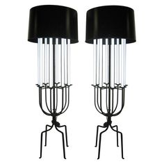 Tommi Parzinger Candelabra Floor Lamps | From a unique collection of antique and modern floor lamps  at http://www.1stdibs.com/lighting/floor-lamps/