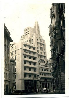 East Asia Bank 東亞銀行  built in 1935  demolished in 1980  rebuilt into new bank building in 1983    國民商業儲蓄銀行(National Commercial & savings Bank Ltd)  built in 1932  demolished in 1963     http://viettelidc.com.vn