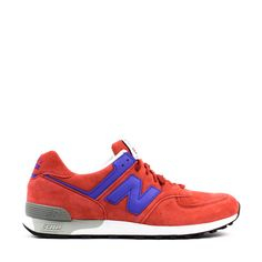 NEW BALANCE M576SRB RED/BLUE MADE IN ENGLAND UK | Solestop.com