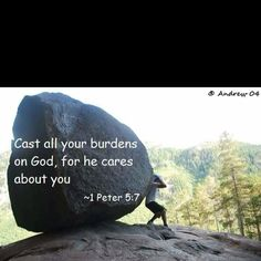 cast all your burdens on him