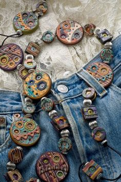 Art Jewelry, Arden Bardol, Artist and 2012 NICHE Award Finalist, Contemporary Conch Belt