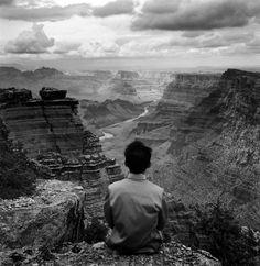 grand canyon, 1987 - by tseng kwong chi