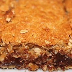 Chocolate Oatmeal Bars Allrecipes.com