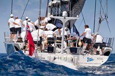 All hands on deck! Photography Jeff Brown. #regatta #superyacht #sailing #BVIs