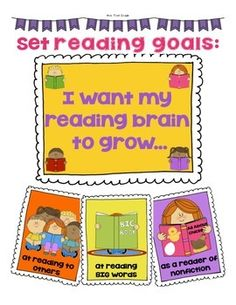 Reading Goals Last Day Of School, School Stuff, Reading Goals, Writing Notebook, Hopes And Dreams, Picture Cards, Grade 1, Notebooks, Student