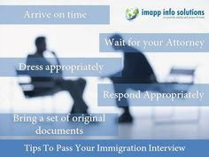 Tips To Pass Your Immigration #Interview #immigration