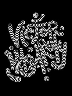 Vasarely tribute on Typography Served  #typography