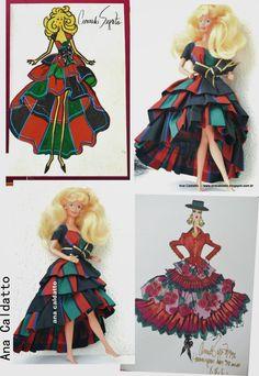 Brazil -  Boneca Barbie Criações Exclusivas Conrado Segreto 1992 Mattel / Estrela