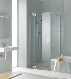 FILIA XP - Klare Linie für kultivierten Dusch-Komfort.