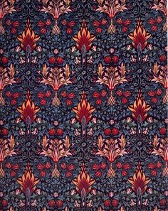 'Snakeshead' textile design by William Morris, produced by Morris & Co in 1876