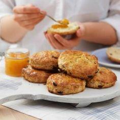 Oppskrift på scones med yoghurt