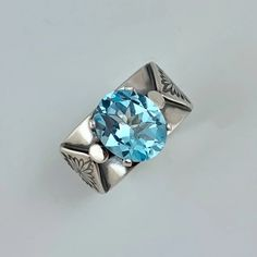 Unforgettably distinct one of a kind, handmade jewelry, inspired by nature's beauty. Artisan Jewelry, Handmade Jewelry, Metal Jewelry, Precious Metals, Blue Topaz, Heart Ring, Sky, Rings, Beauty
