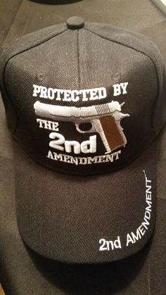 Don't be unprepared Protected by the 2nd Amendment Hat
