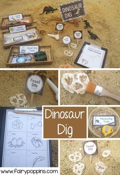 printables dinosaur dramatic poppins fairy play dig Dinosaur Dig dramatic play printables Fairy PoppinsYou can find Play based learning and more on our website Dinosaurs Preschool, Dinosaur Activities, Toddler Activities, Dinosaur Printables, Dinosaur Projects, Family Activities, Kindergarten Activities, Dinosaurs For Kids, Dinosaur Crafts Kids