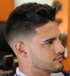 18 textured fade hairstyle