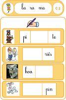 Rechercher la bonne syllabe (jeu progressif, avec indication de sons) Jeu de loto placer la bonne syllabe (indication de la syllabe concernée)