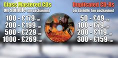 http://www.cdduplicationpro.com offer CD and DVD manufacturing throughout the UK to include Scotland, Wales, England & Ireland. cd duplication can be from as little as 50 units. Up to full colour print on disc is included in all pricing. CD & DVD manufacture using Glass Masters to provide full retail quality.