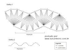 Katia Ribeiro Moda & Decoração Handmade: Crochê de Grampo