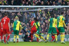 Milner (G & A), Mignolet, Toure & Sakho vs Norwich