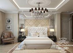 Дизайн интерьера спальни на ул.Чайковского в Классическом стиле