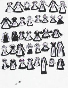 Maid-wear? by NeonGenesisEVARei on DeviantArt